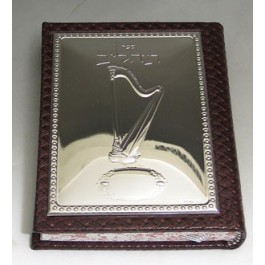 Leather/Sterling Silver Tehilim