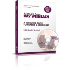 As Heard From Rav Weinbach