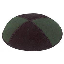 Two Tone Suede Kippah