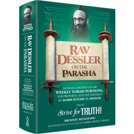 Rav Dessler on the Parsha