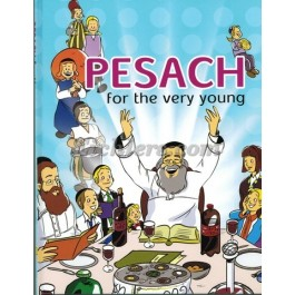 Pesach For The Very Young - (Laminated)