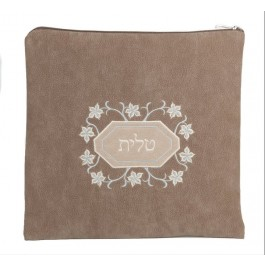 Talit / Tefillin Bag Impala Suede Branches