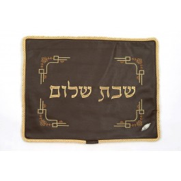 Challah Cover Leather 4 Corners