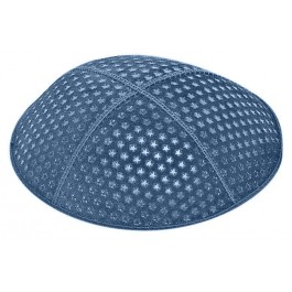 Small Stars Embossed Kippah