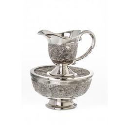 Silver Plated Mayim Achronim