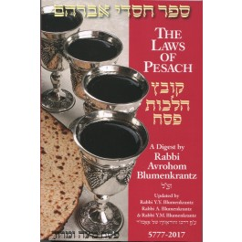 Laws of Pesach 2016 - Rabbi Blumenkranz