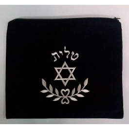 Talit / Tefillin Bag Set Star with Leaf