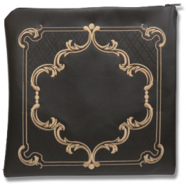 Talit Bag Set Leather Emblem