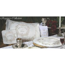 Regency Collection Pesach Seder Set Silver