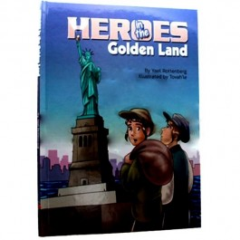 HEROES IN THE GOLDEN LAND - COMICS