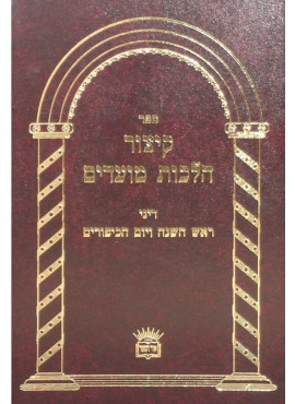 Sefer Kitzur Hilchot Moadim
