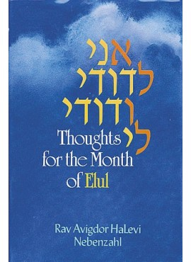 Ani LeDodi - Thoughts For The Month Of Elul