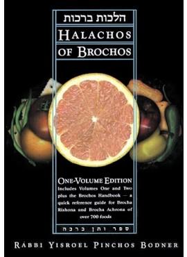 Halachot of Berachot