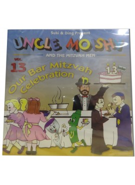 Uncle Moishy CD Vol 13