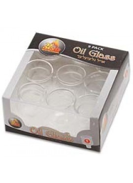 Round Glass Oil Cup