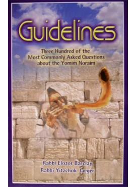 Guidelines - Yomim Noraim