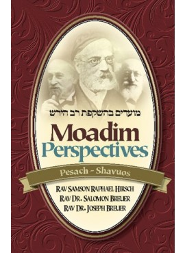 Moadim Perspectives: Pesach - Shavuos