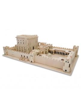 3-D Wood Beit Hamikdash Puzzle