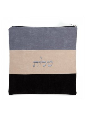 Tallit / Tefillin Bag Set Impala Suede 3 Color