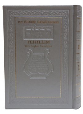 The Isidore Dayan Edition Tehillim With English Translation