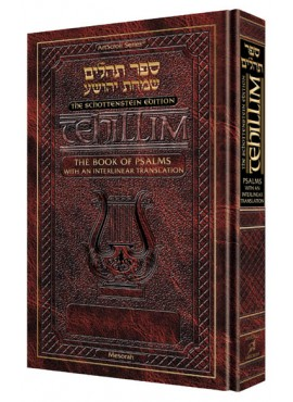 Interlinear Tehillim/Psalms The Schottenstein Edition