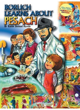 Boruch Learns About Pesach - (Laminated)