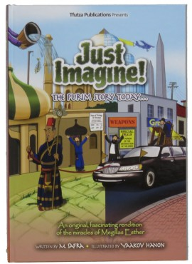 Just Imagine! The Purim Story Today - Comics