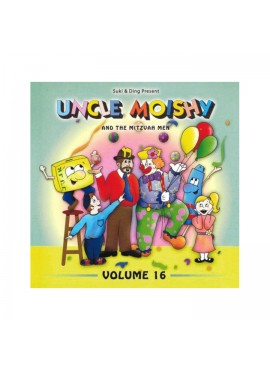 Uncle Moishy CD Vol 16