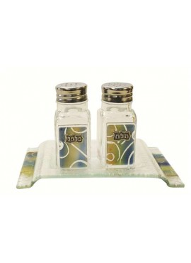Glass Salt & Pepper Shakers - Oriental