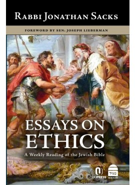 Essays On Ethics by Rabbi Jonathan Sacks