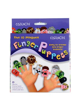 10 Plagues Finger Puppets