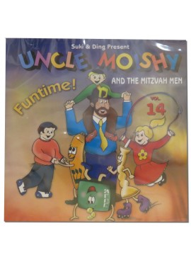 Uncle Moishy CD Vol 14