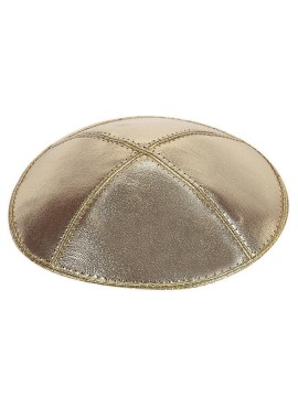 Lame Leather Kippah