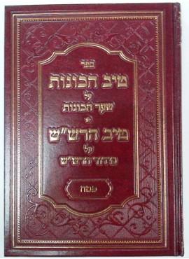 Tiv HaKavanot Pesach- טיב הכוונות פסח