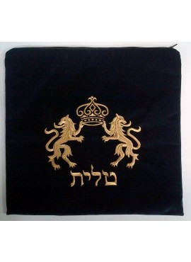 Talit / Tefillin Bag Set Lions