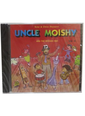 Uncle Moishy CD Vol 4
