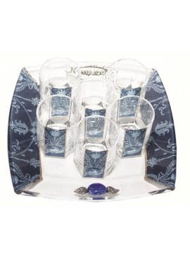 Liquor Set -  Blue