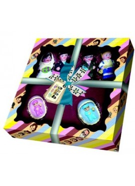 Mitzvah Kinder Mazel Tov Set - Litvish