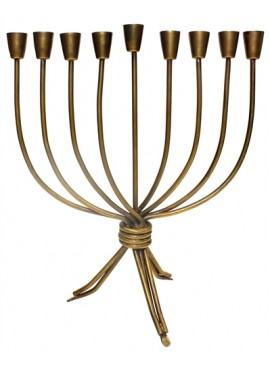 Iron Oil Menorah