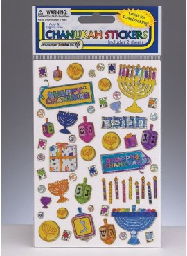 Chanukah  Sticker Sheets Book