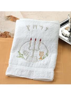 Pesach Towel Urchatz Candelabra