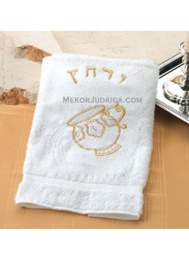 Pesach Towel Urchatz Washcup