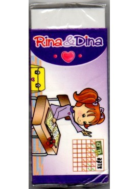 Rina and Dina School Eraser