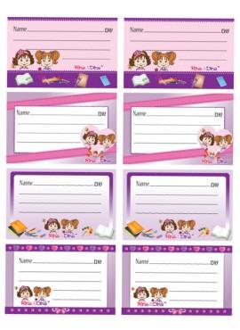 Rina and Dina Name Labels