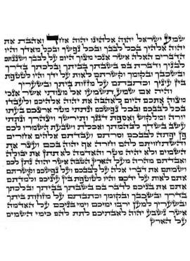 Mezuzah Parchment