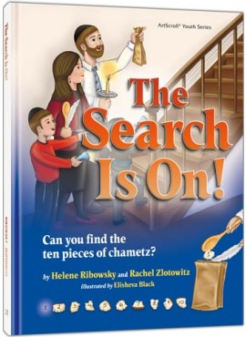 The Search Is On! - Childrens Pesach Book