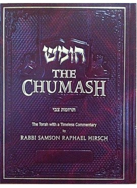 The Chumash (Trumath Tzvi) with Rabbi S.R. Hirsch Commentary