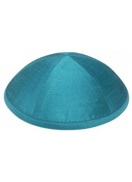 Raw Silk Yarmulkes