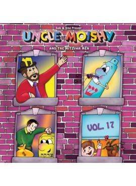 Uncle Moishy CD Vol 17