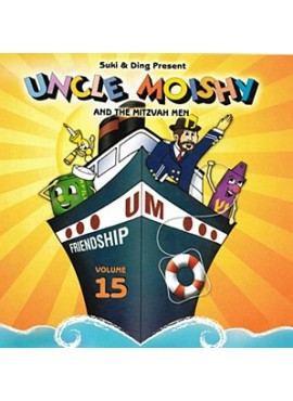 Uncle Moishy CD Vol 15